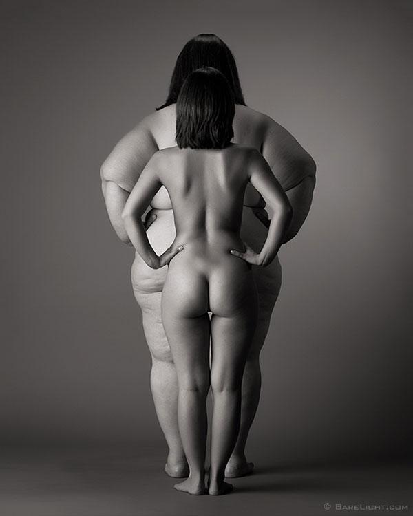 быть стройной, быть толстой, стройная и толстая